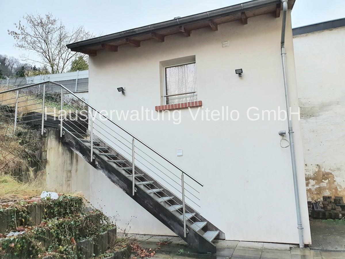 Treppe zum Eingang Wohnung